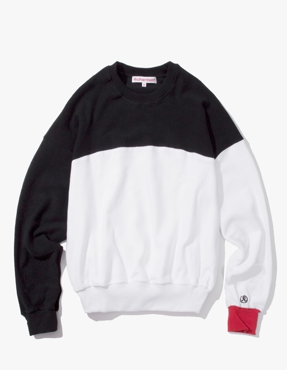 Richardson Reverse Terry Color Block Crew | HEIGHTS. | International Store