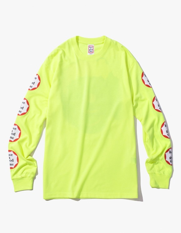 have a good time Clown L/S Tee - Neon Green | HEIGHTS. | International Store