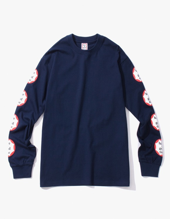 have a good time Clown L/S Tee - Navy | HEIGHTS. | International Store