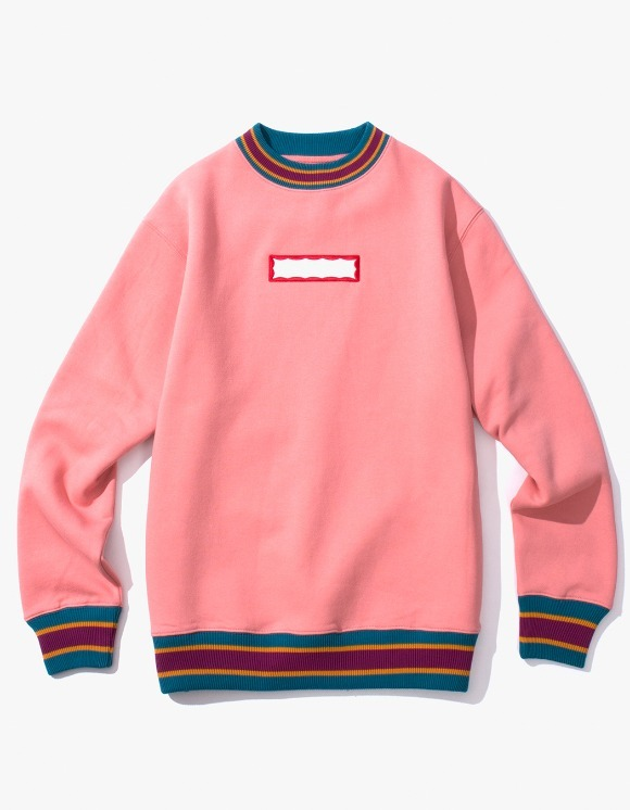 have a good time Color Rib Crewneck - Indie Pink | HEIGHTS. | International Store