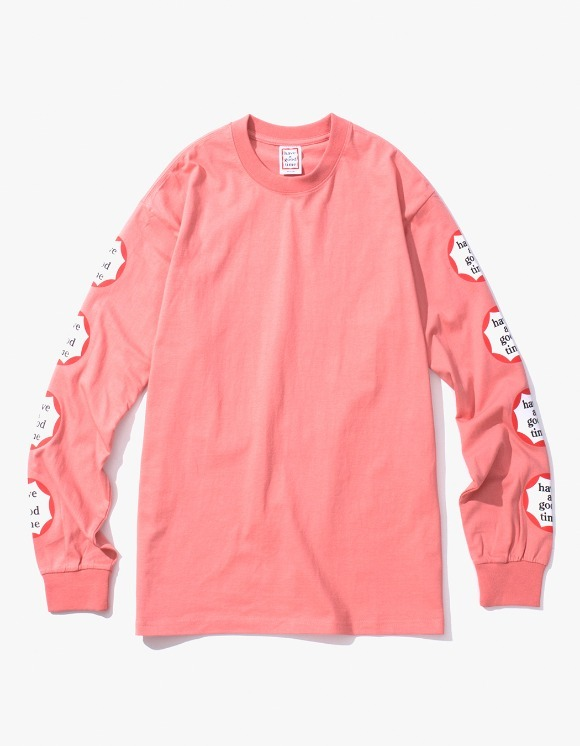 have a good time Clown L/S Tee - Indie Pink | HEIGHTS. | International Store