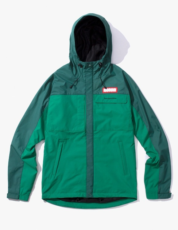 have a good time Mountain Jacket - Green | HEIGHTS. | International Store