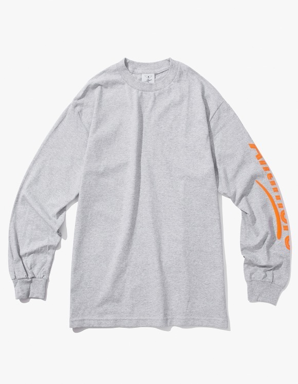 Alltimers Estate Puffy L/S Tee - Heather Grey | HEIGHTS. | International Store