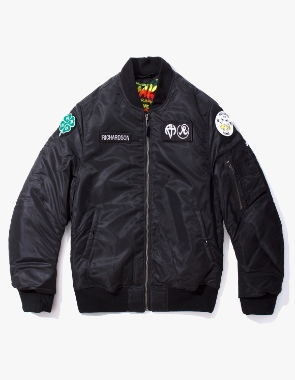Richardson Reversible MA-1 - Black | HEIGHTS. | International Store