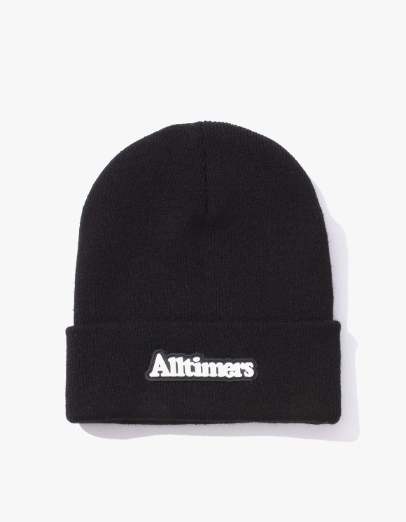 Alltimers Brodway Rubber Beanie - Black | HEIGHTS. | International Store