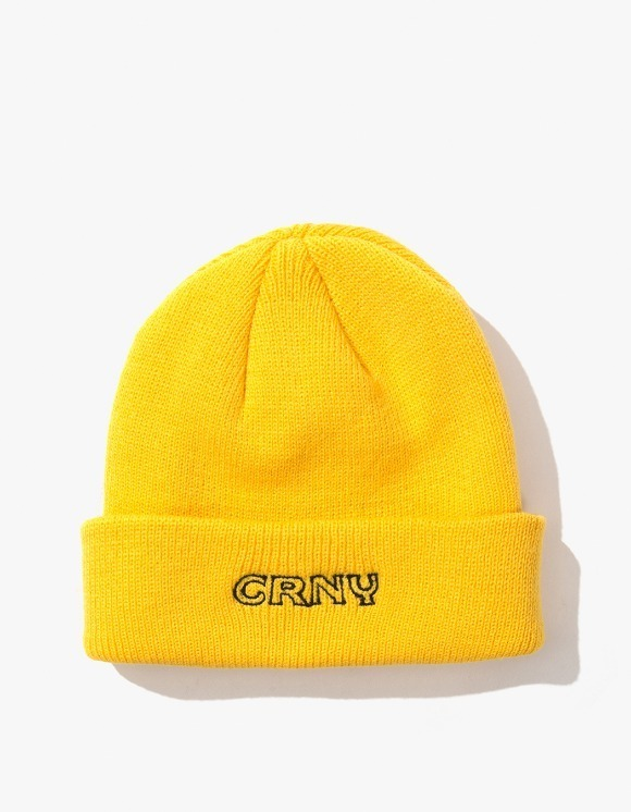 CORNY / BOOTLEG Stoops Beanie - Yellow | HEIGHTS. | International Store