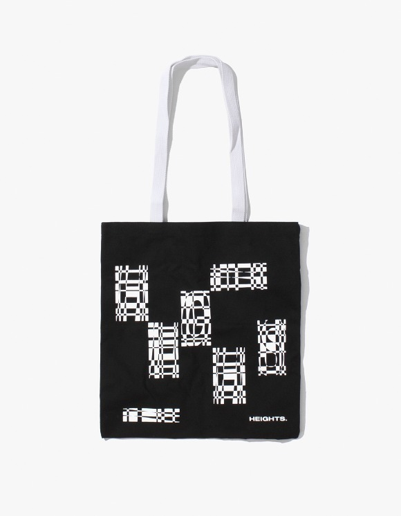 HEIGHTS. Heights. Tote Bag - Black/White | HEIGHTS. | International Store