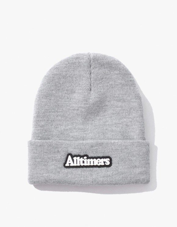 Alltimers Brodway Rubber Beanie - Heather Grey | HEIGHTS. | International Store