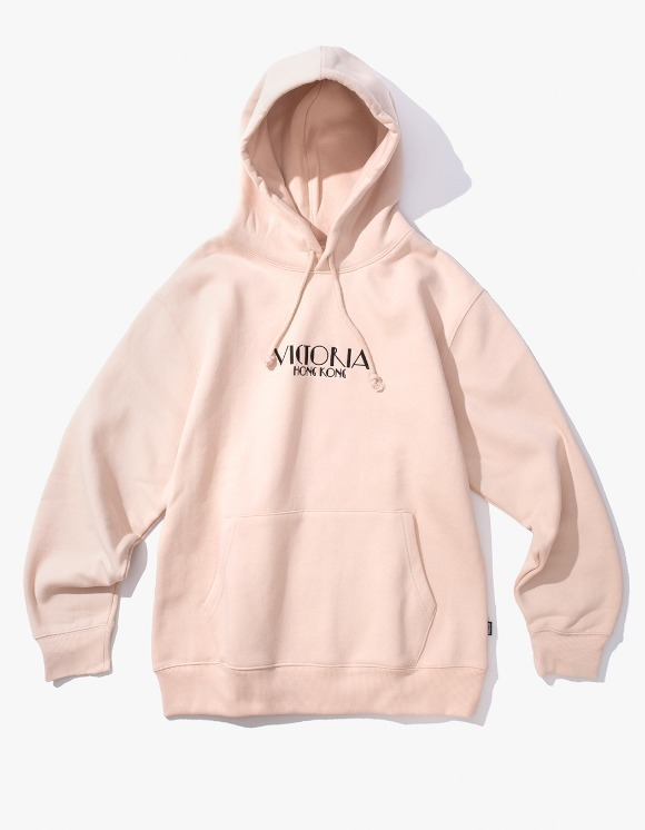 Victoria Hong Kong Lady Market Hoodie - Nude | HEIGHTS. | International Store