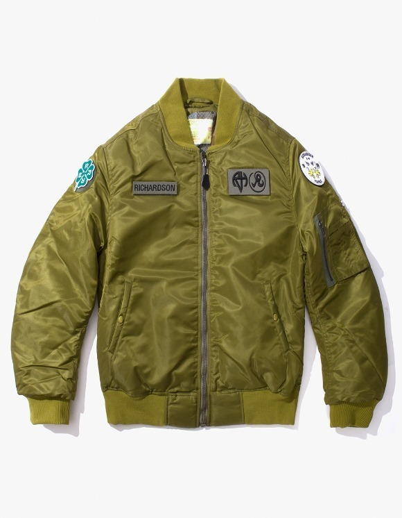 Richardson Reversible MA-1 - Olive | HEIGHTS. | International Store