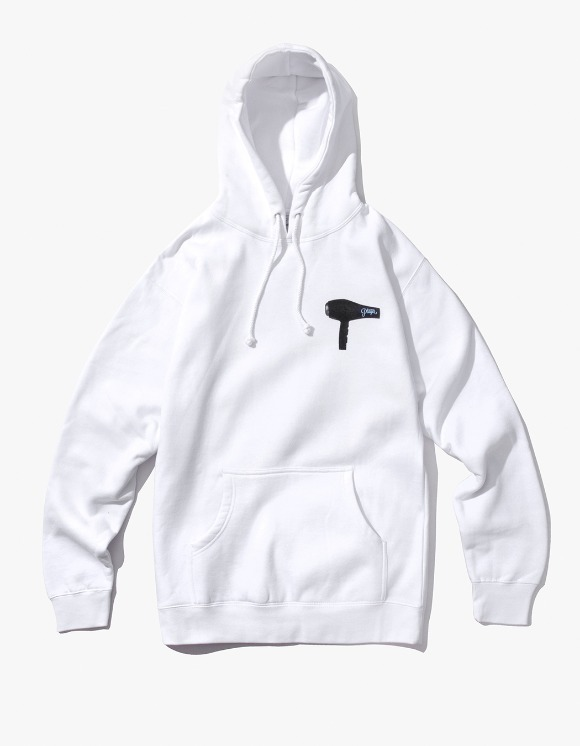 Alltimers Blow Dry Hoody - White | HEIGHTS. | International Store