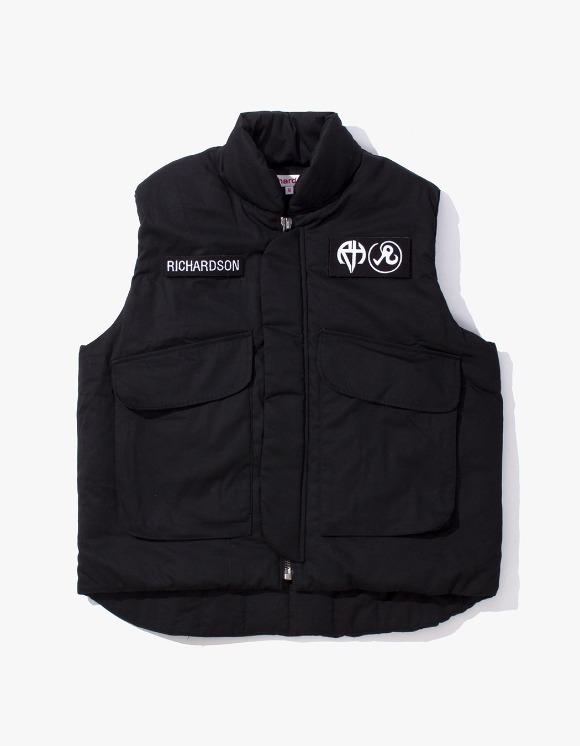Richardson Insulated Flak Jacket - Black | HEIGHTS. | International Store