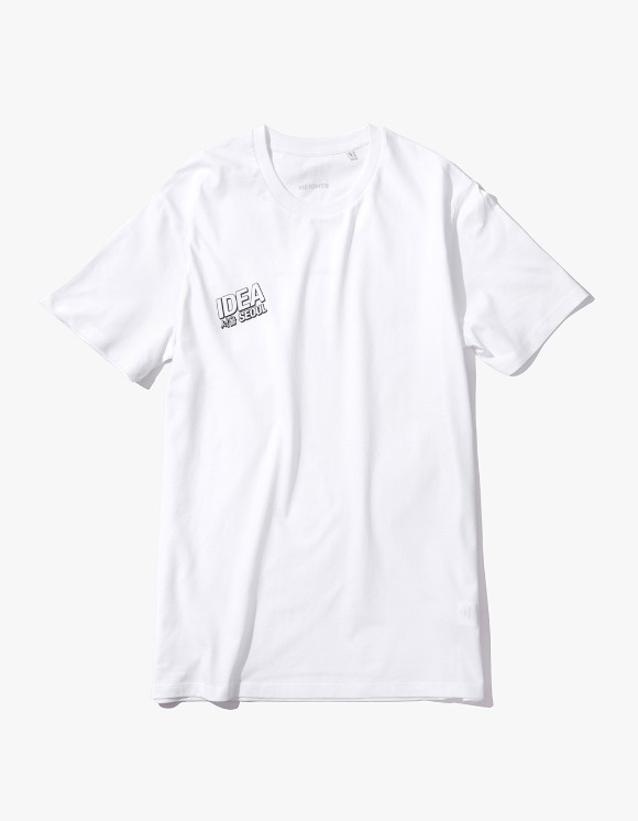 IDEA IDEA Seoul Night Market T-Shirt - White | HEIGHTS. | International Store