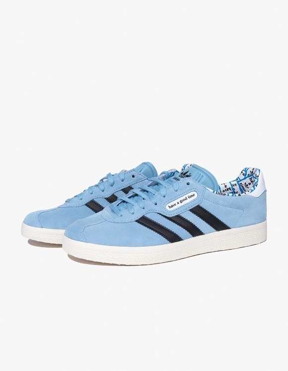 have a good time HAGT x ADIDAS Gazelle Super - Blue | HEIGHTS. | International Store