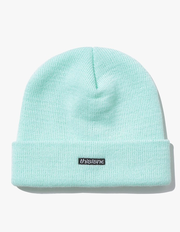 thisisneverthat HSP Short Beanie - Mint | HEIGHTS. | International Store