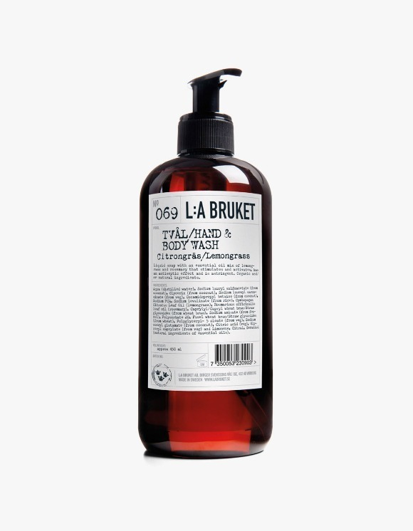 L:a Bruket Hand & Body Wash - Lemongrass (450ml) | HEIGHTS. | International Store