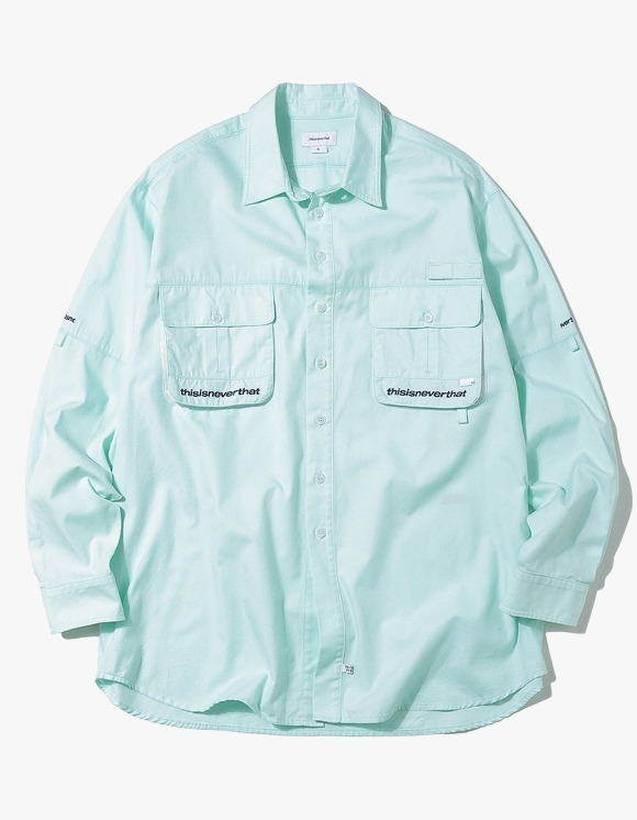 thisisneverthat Sports Fishing shirt - Mint | HEIGHTS. | International Store