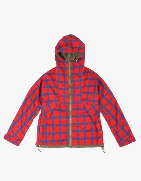 yeseyesee Check Mountain Parka - Red | HEIGHTS. | International Store