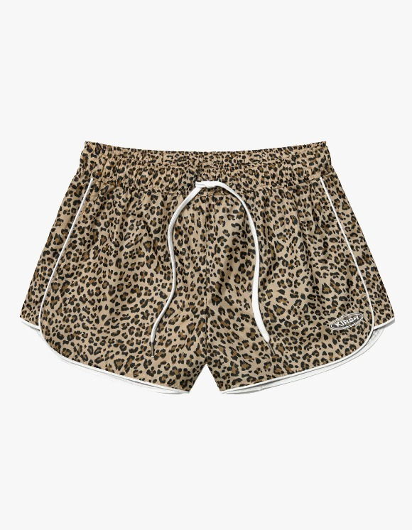 KIRSH Track Shorts IS - Leopard | HEIGHTS. | International Store