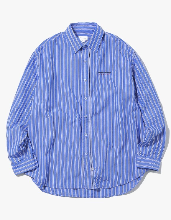 thisisneverthat DSN Logo Striped Shirt - Blue | HEIGHTS. | International Store