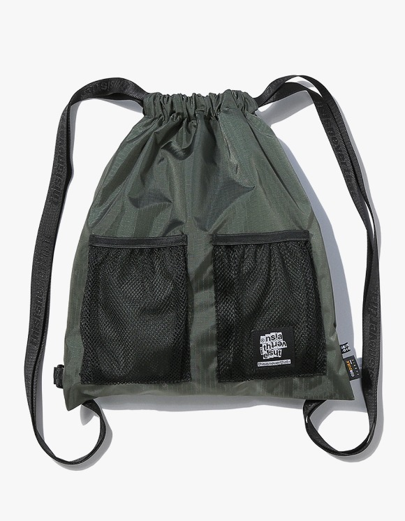 thisisneverthat Ripstop Cordura® 210D Gym Sack - Olive | HEIGHTS. | International Store