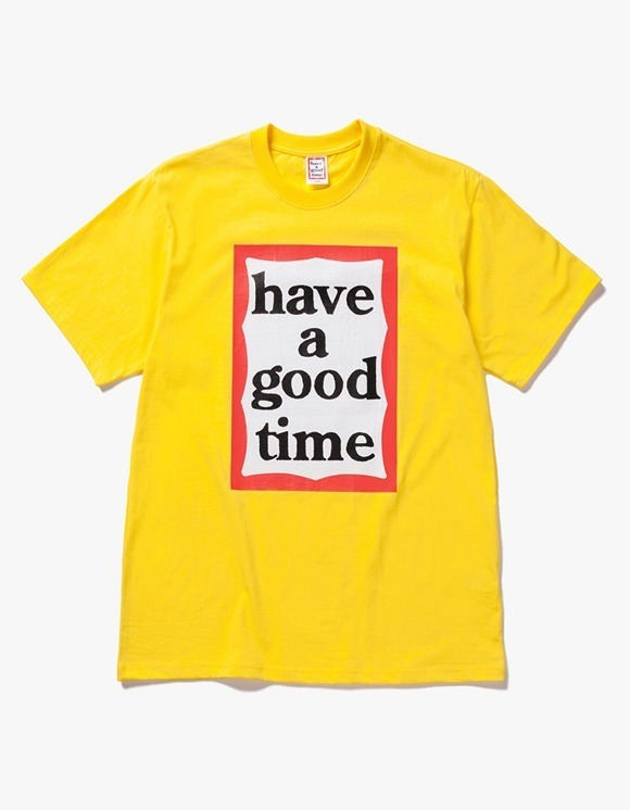 have a good time Big Frame S/S Tee - Lemon | HEIGHTS. | International Store