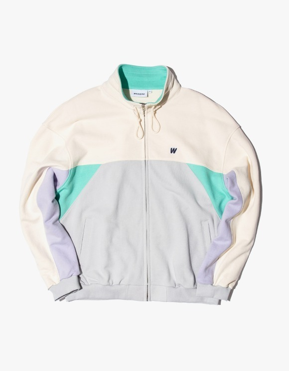 WKNDRS Cutted Track Jacket - Mint | HEIGHTS. | International Store