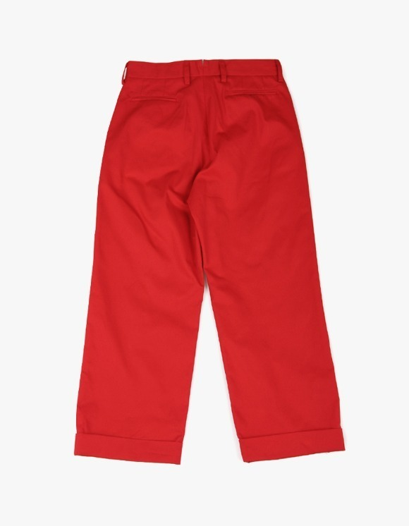 yeseyesee Two Tuck Wide Pants - Red | HEIGHTS. | International Store