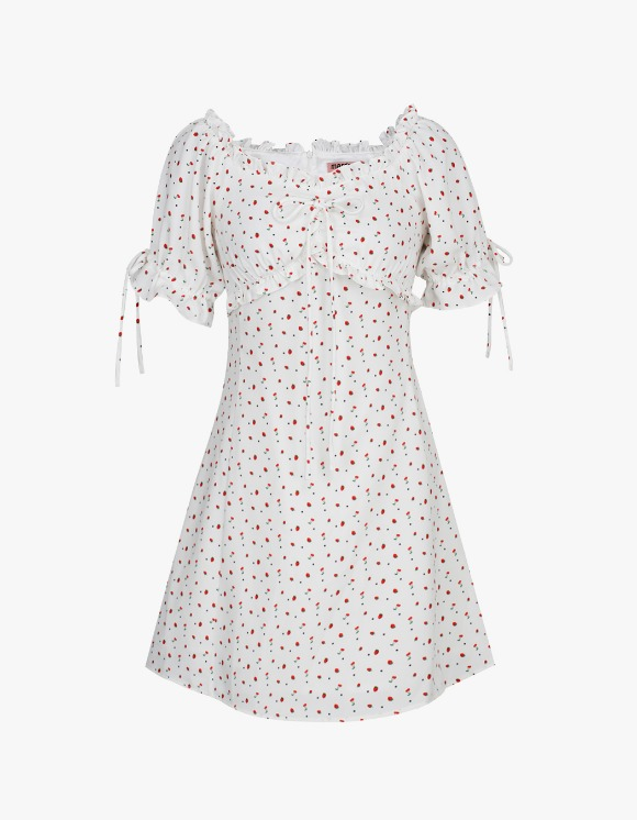 Margarin Fingers Strawberry One-Piece - White | HEIGHTS. | International Store
