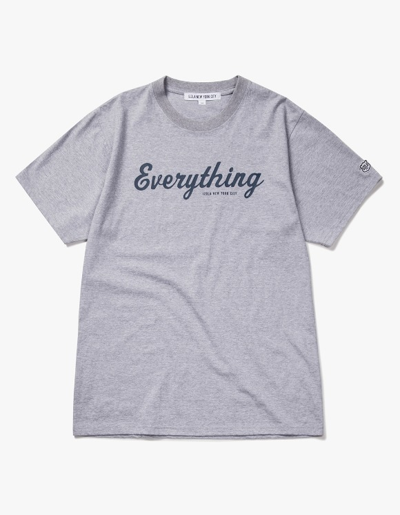 IZOLA NYC Everything S/S Tee - Heather Grey | HEIGHTS. | International Store
