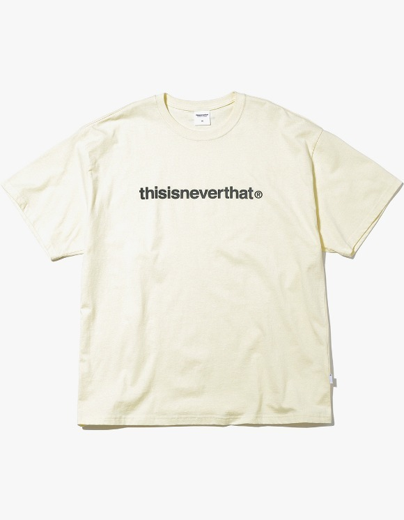 thisisneverthat T-Logo Tee - Lemon | HEIGHTS. | International Store