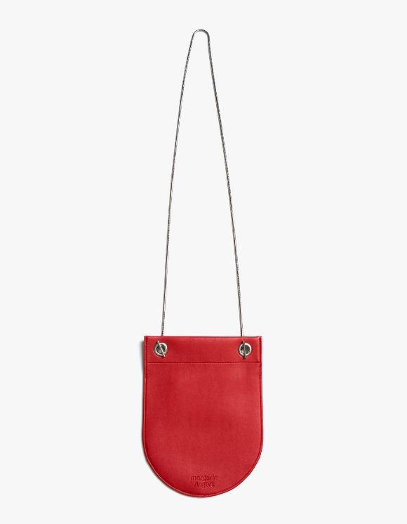 Margarin Fingers Round Compact Bag - Red | HEIGHTS. | International Store