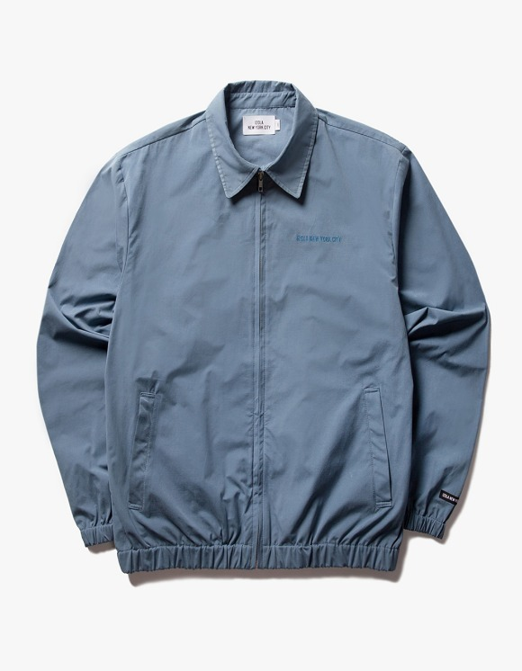 IZOLA NYC Coach ZIp Up Jacket - Blue | HEIGHTS. | International Store