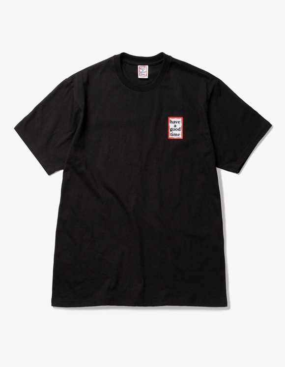 have a good time Mini Frame S/S Tee - Black | HEIGHTS. | International Store
