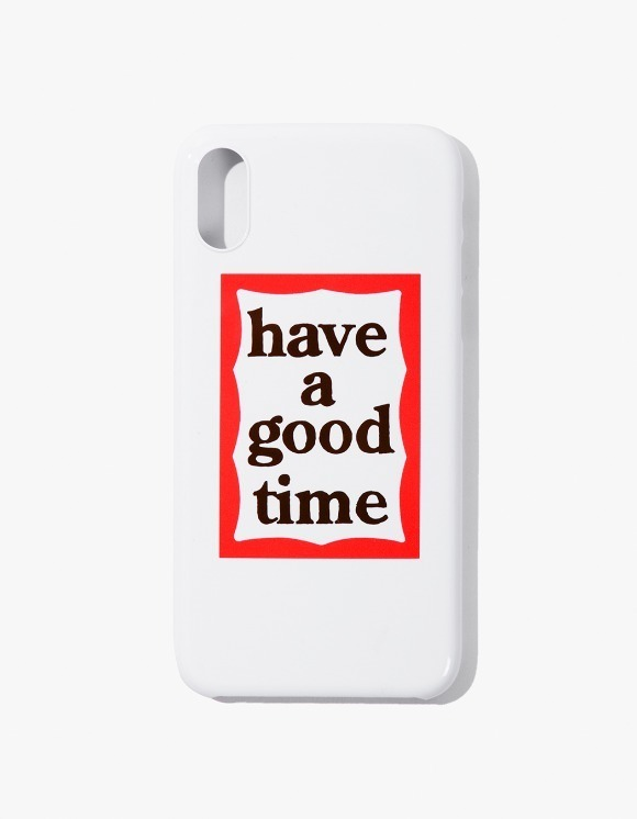 have a good time Frame iPhone Case X - White | HEIGHTS. | International Store