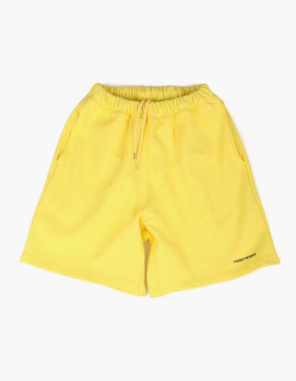 yeseyesee Y.E.S Sweat Shorts - Yellow | HEIGHTS. | International Store