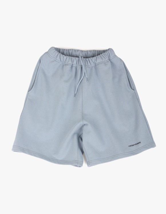 yeseyesee Y.E.S Sweat Shorts - Sky Blue | HEIGHTS. | International Store