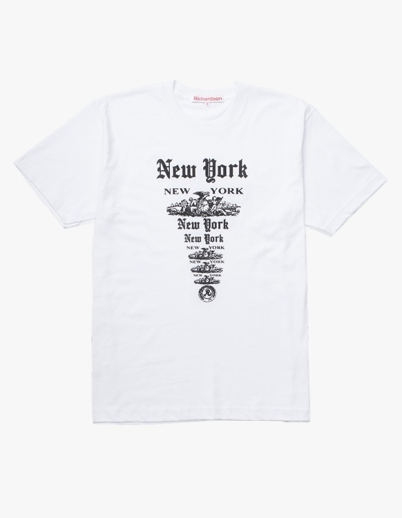Richardson NY NY S/S T-shirts - White | HEIGHTS. | International Store