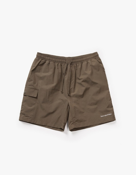 have a good time Aquallum Pocket Shorts - Olive | HEIGHTS. | International Store