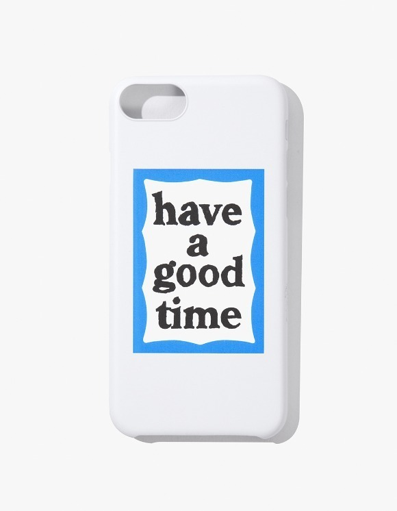 have a good time Blue Frame iPhone Case 6/7/8 - White | HEIGHTS. | International Store