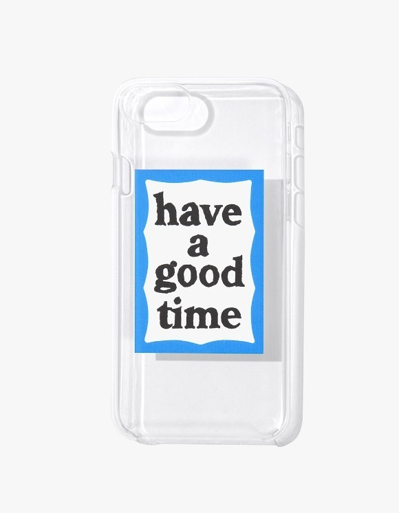 have a good time Blue Frame iPhone Case 6/7/8 - Clear | HEIGHTS. | International Store