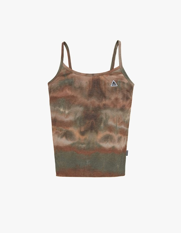 MISCHIEF [4월 5일 예약배송]Tie-Dyed Camisole - Brown / Green | HEIGHTS. | International Store