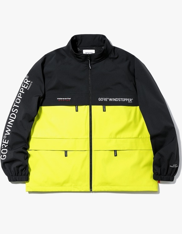 thisisneverthat GORE® WINDSTOPPER® CITY Jacket - Lime | HEIGHTS. | International Store