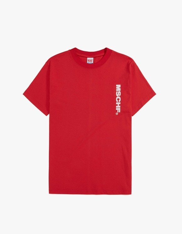 MISCHIEF [4월 5일 예약배송]MSCHF Basic - Red | HEIGHTS. | International Store