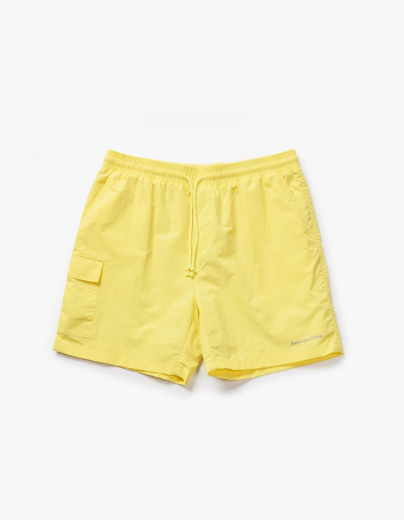 have a good time Aquallum Pocket Shorts - Light Yellow | HEIGHTS. | International Store