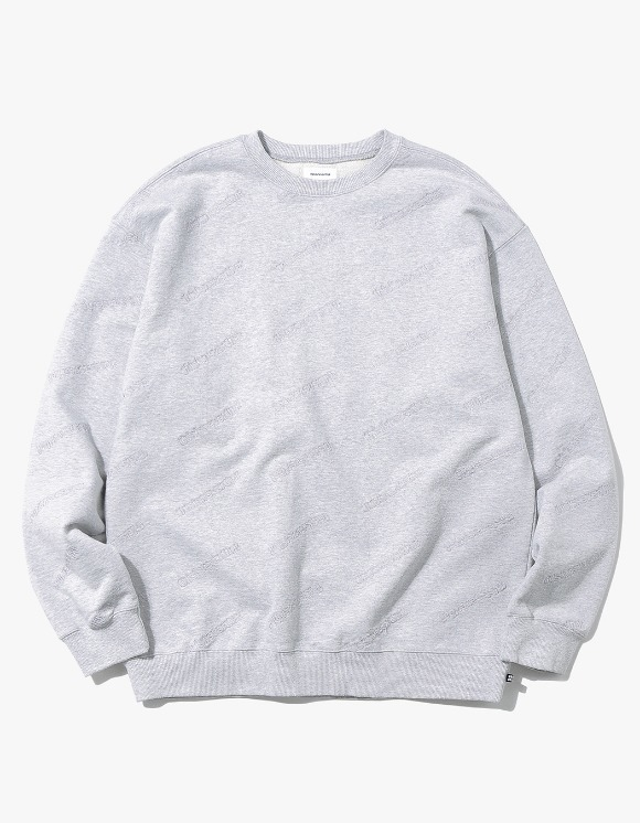 thisisneverthat T-Logo PT Crewneck - Grey | HEIGHTS. | International Store