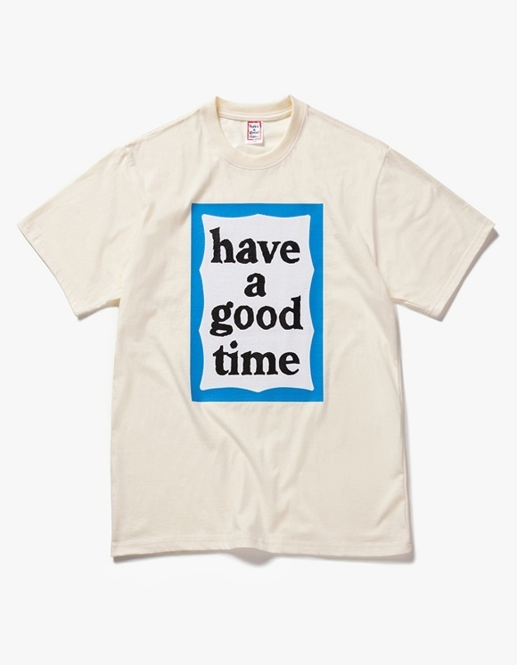have a good time Big Blue Frame S/S Tee - Cream | HEIGHTS. | International Store