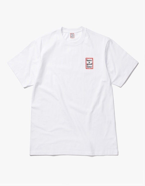 have a good time Mini Frame S/S Tee - White | HEIGHTS. | International Store