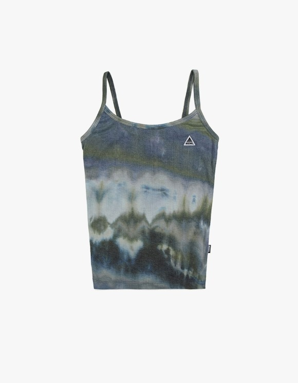 MISCHIEF [4월 5일 예약배송]Tie-Dyed Camisole - Olive / Blue | HEIGHTS. | International Store