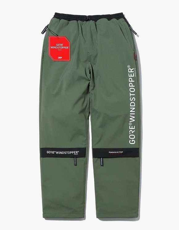 thisisneverthat GORE® WINDSTOPPER® CITY Pant - Olive | HEIGHTS. | International Store